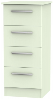 Contrast Vanilla 4 Drawer Tall Chest
