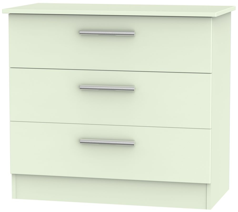 Contrast Vanilla Chest of Drawer - 3 Drawer