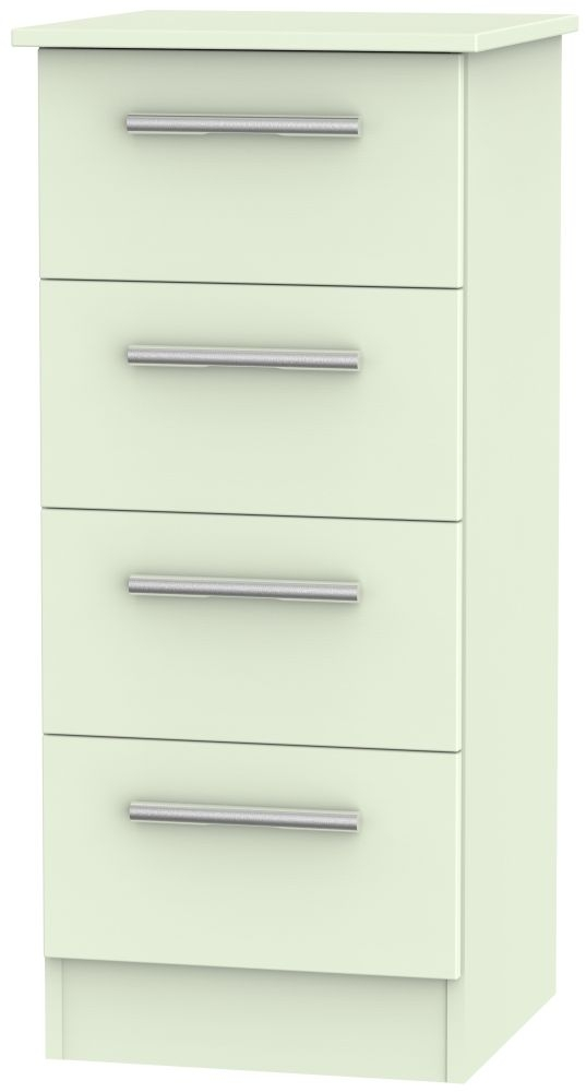 Contrast Vanilla Chest of Drawer - 4 Drawer Locker