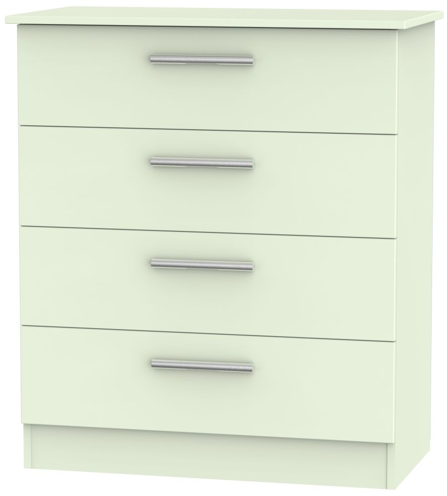 Contrast Vanilla 4 Drawer Chest