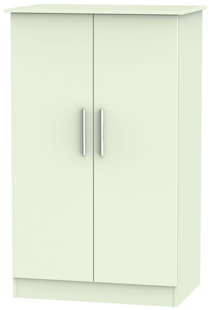 Contrast Vanilla Wardrobe - 2ft 6in Plain Midi