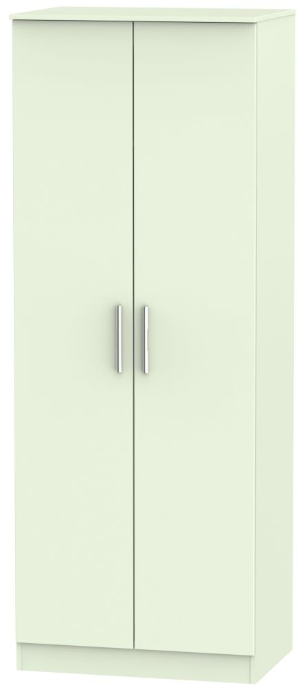 Contrast Vanilla Wardrobe - Tall 2ft 6in Plain