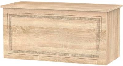 Corrib Bardolino Oak Blanket Box