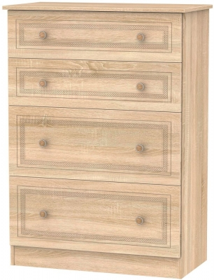 Corrib Bardolino Oak Chest of Drawer - 4 Drawer Deep