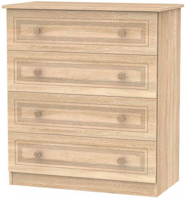 Corrib Bardolino Oak Chest of Drawer - 4 Drawer
