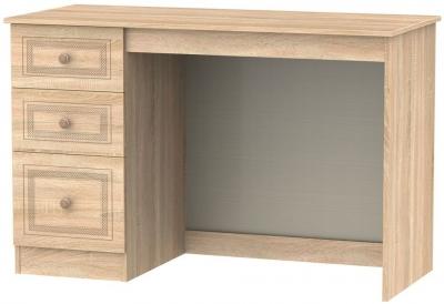 Corrib Bardolino Oak Desk - 3 Drawer