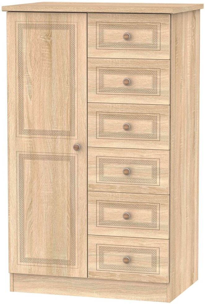 Corrib Bardolino Oak Children Wardrobe