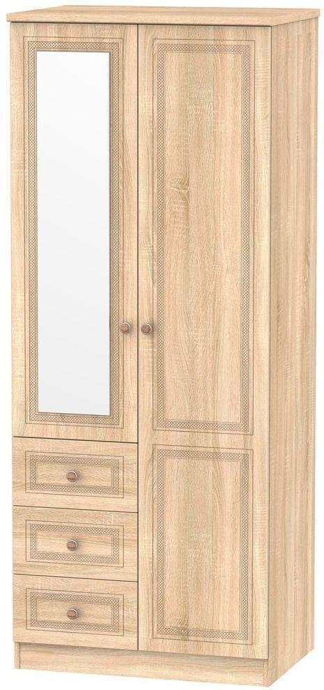 Corrib Bardolino Oak Combination Wardrobe