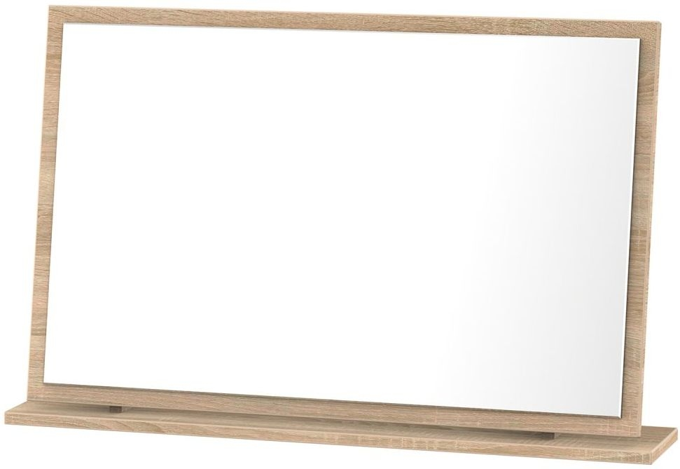 Corrib Bardolino Oak Mirror - Large