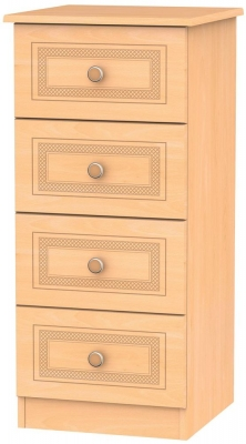 Corrib Beech Chest of Drawer - 4 Drawer Locker