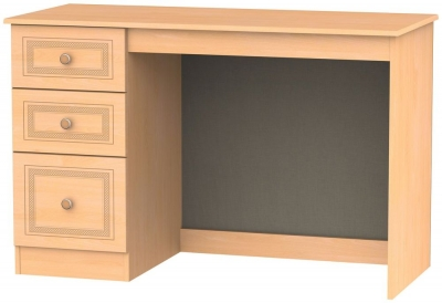 Corrib Beech Desk - 3 Drawer