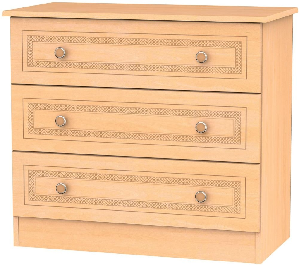 Corrib Beech Chest of Drawer - 3 Drawer