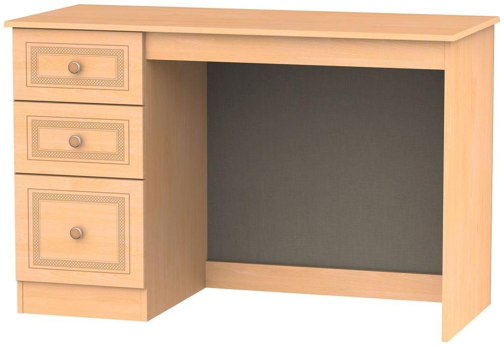 Corrib Beech Desk - 3 Drawer