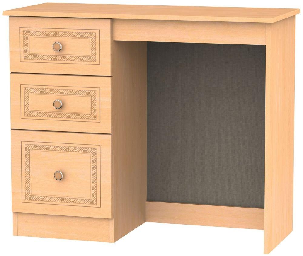 Corrib Beech Dressing Table - Vanity Knee Hole