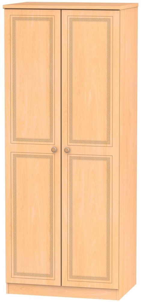 Corrib Beech Wardrobe - 2ft 6in with Plain