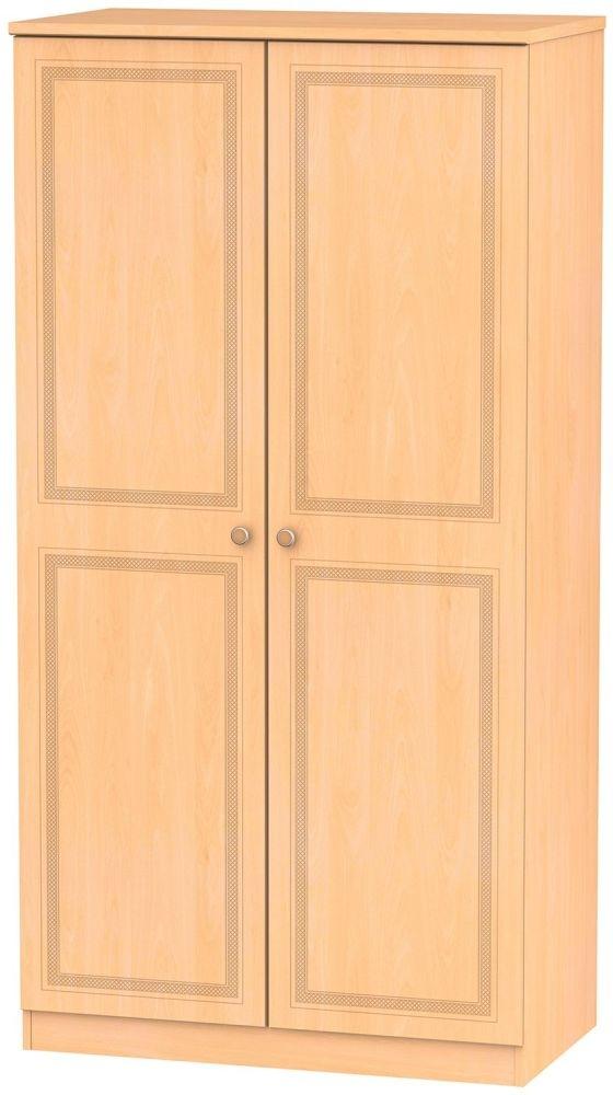 Corrib Beech Wardrobe - 3ft with Plain