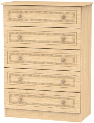 Corrib Light Oak Chest of Drawer - 5 Drawer