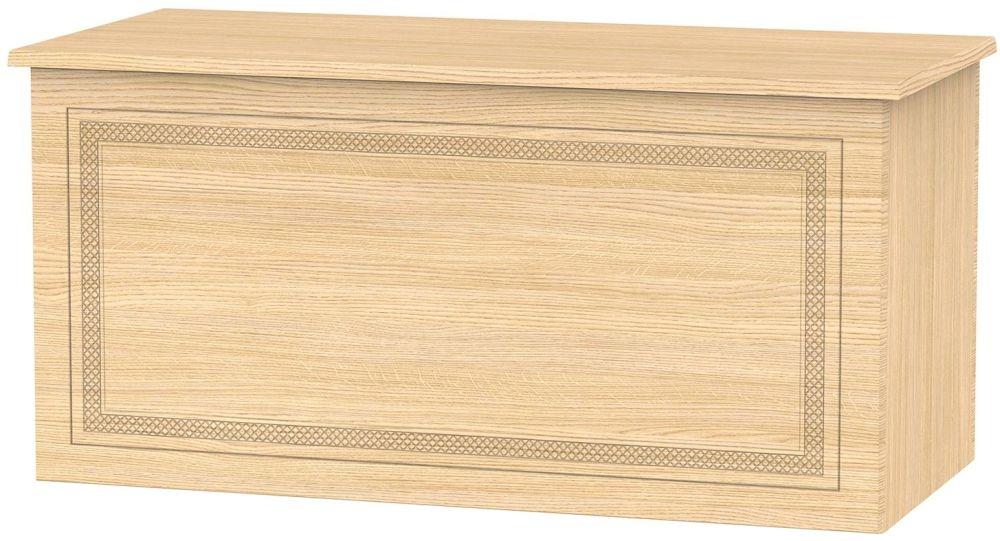 Corrib Light Oak Blanket Box