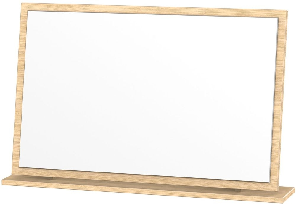 Corrib Light Oak Mirror - Large