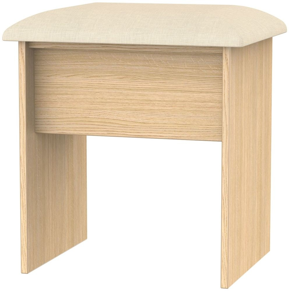 Corrib Light Oak Stool