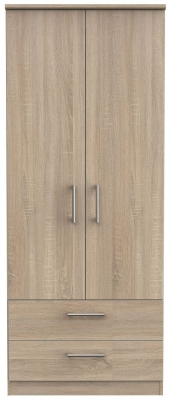 Devon Bardolino 2 Door 2 Drawer Wardrobe