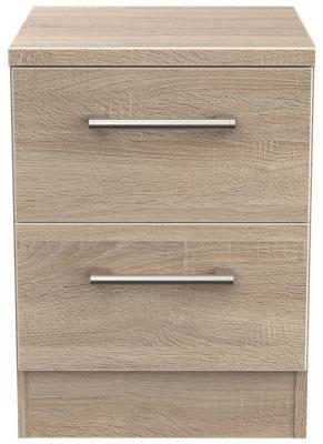 Devon Bardolino 2 Drawer Bedside Cabinet