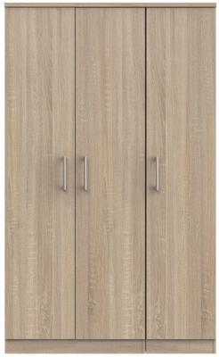 Devon Bardolino 3 Door Wardrobe