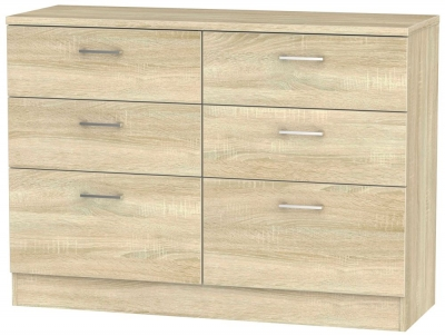 Devon Bardolino 6 Drawer Midi Chest