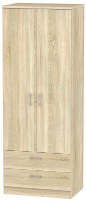 Devon Bardolino 2 Door 2 Drawer Tall Wardrobe