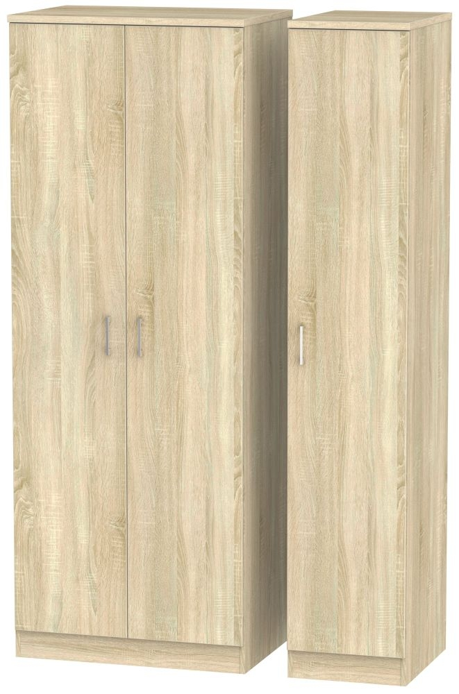 Devon Bardolino Triple Wardrobe - Tall Plain