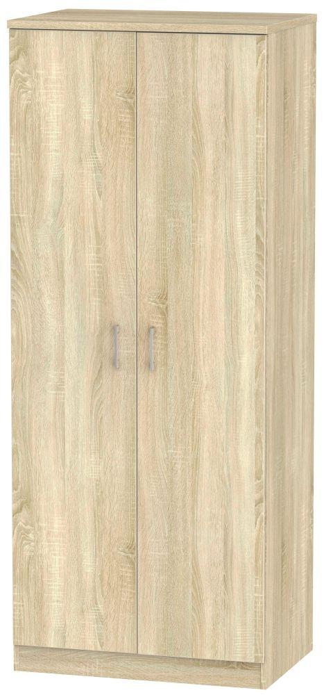 Devon Bardolino 2 Door Plain Wardrobe