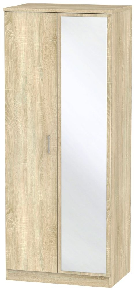 Devon Bardolino 2 Door Mirror Wardrobe