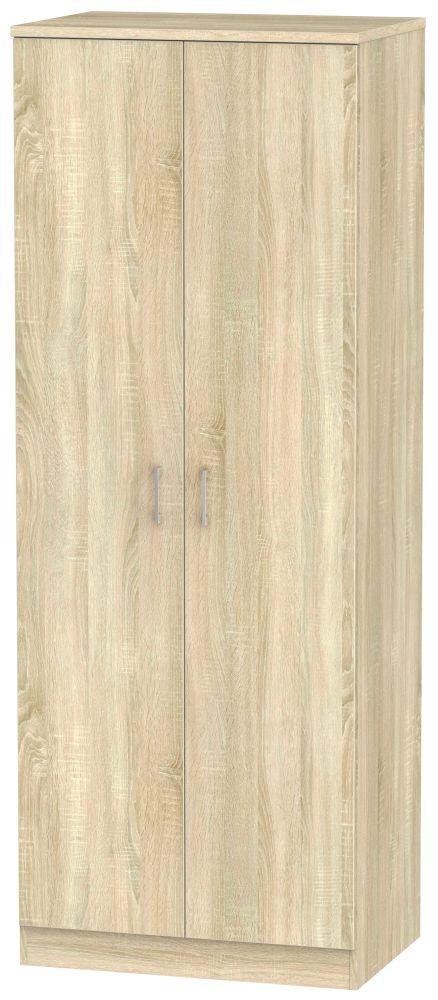 Devon Bardolino 2 Door Tall Plain Double Wardrobe
