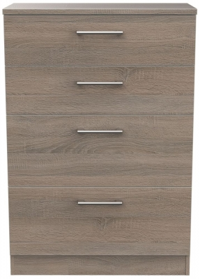 Devon Darkolino 4 Drawer Deep Chest