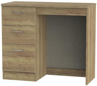 Devon Stirling Oak Single Pedestal Dressing Table