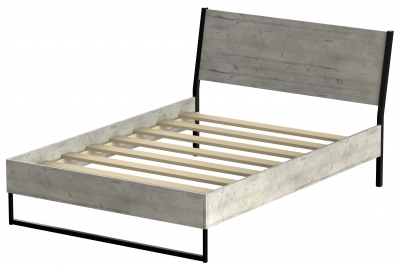 Diego Concrete Bed