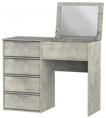 Diego Concrete Vanity Flip Mirror Dressing Table
