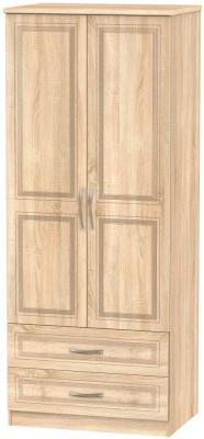 Dorset Bardolino 2 Door 2 Drawer Wardrobe