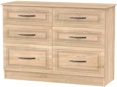 Dorset Bardolino 6 Drawer Midi Chest