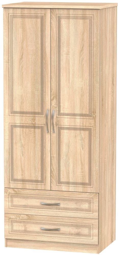 Dorset Bardolino 2 Door 2 Drawer Wardrobe
