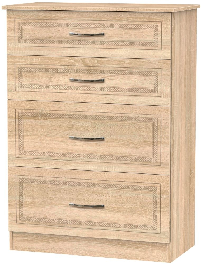 Dorset Bardolino 4 Drawer Deep Chest
