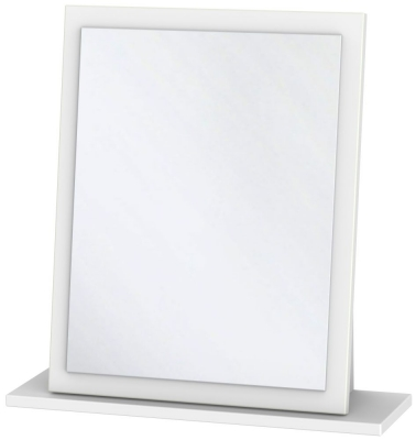 Dubai White Small Mirror