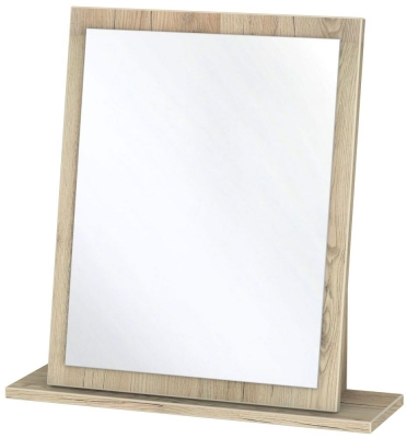 Dubai Bordeaux Oak Small Mirror
