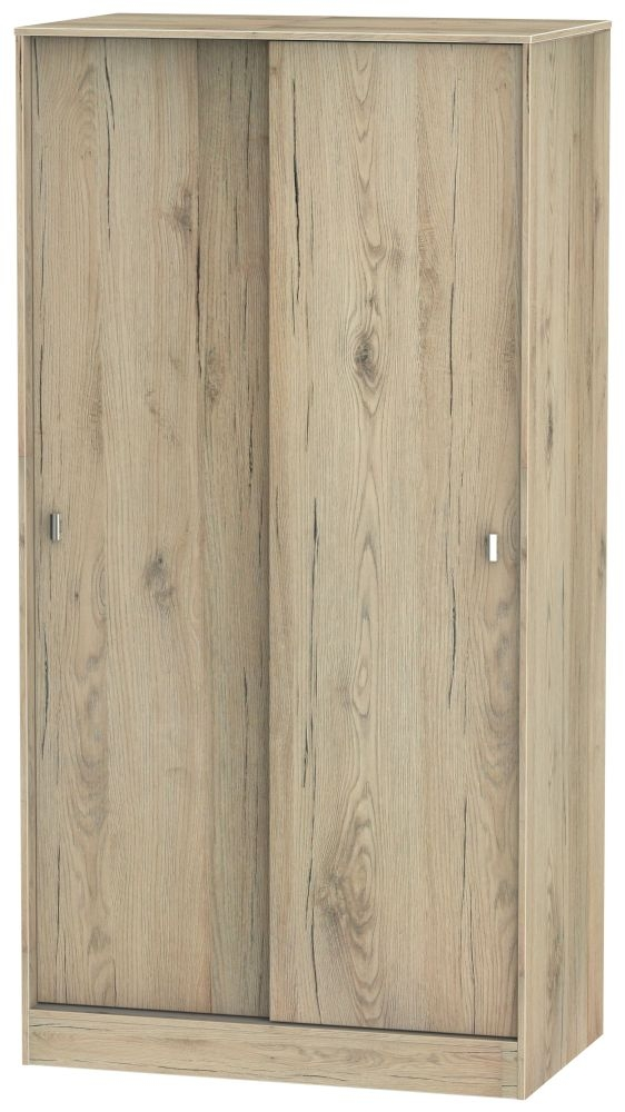 Dubai Bordeaux Oak 2 Door Sliding Wardrobe