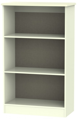 Kingston Cream Bookcase - 2 Shelves