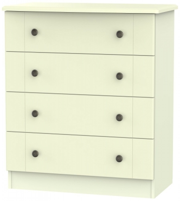 Kingston Cream Chest of Drawer - 4 Drawer