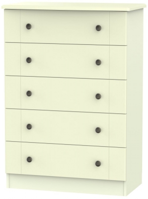Kingston Cream Chest of Drawer - 5 Drawer