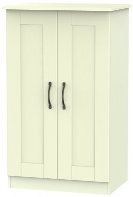 Kingston Cream Wardrobe - 2ft 6in Plain Midi