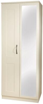 Kingston Cream Wardrobe - Tall 2ft6in Mirror