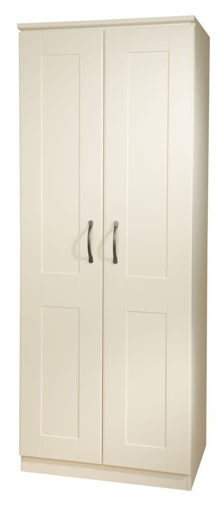 Kingston Cream Wardrobe - 2ft 6in Tall Plain